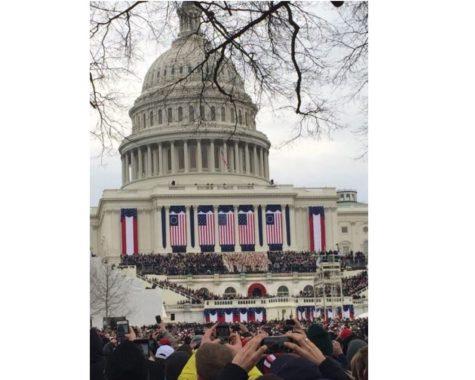 RMA Senior Witnesses History at the 2017 Inauguration