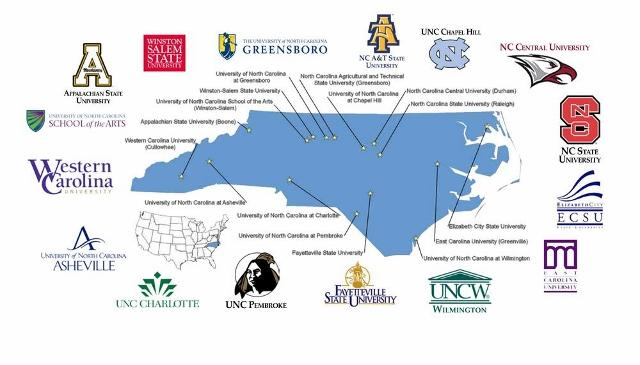 Colleges In North Carolina Map Top 10 North Carolina Colleges – Eagle Examiner