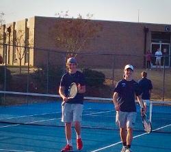 Varsity Boys Tennis Makes Case for State Tournament Bid