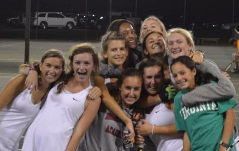 Girls Varsity Tennis Run at States