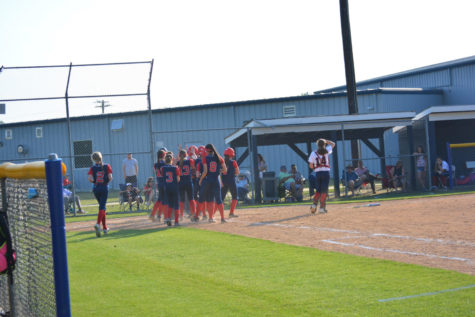 Varsity Softball Defeats Rival Faith Christian
