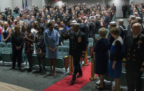 Washington Change of Arms Ceremony