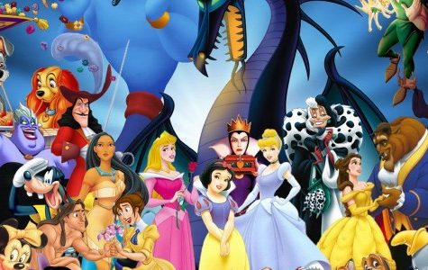 The Senior Class as Disney Characters