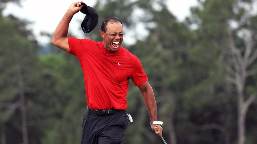 Tiger+Woods+Wins+The+Masters