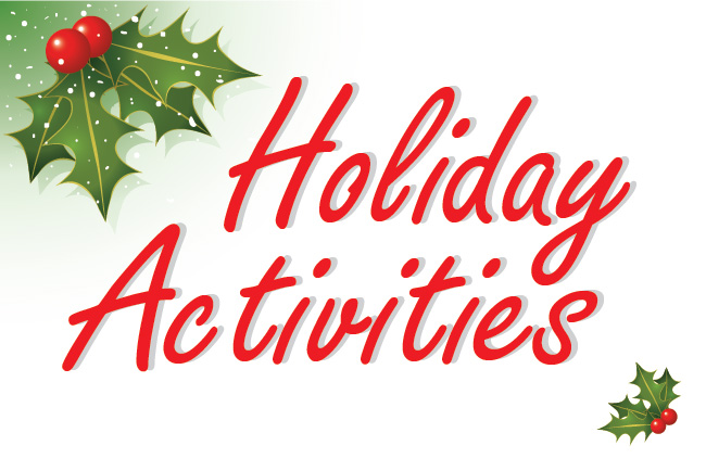 Top 10 Holiday Activities