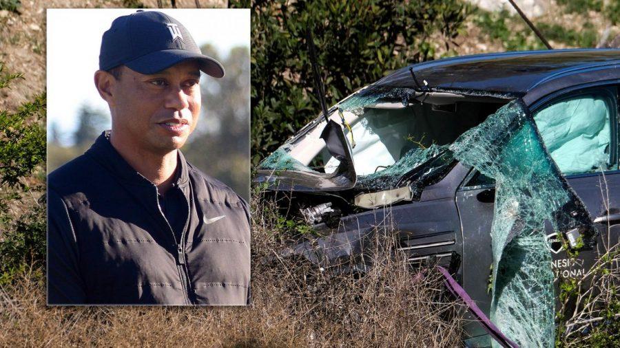 Tiger+Woods%27+Car+Wreck